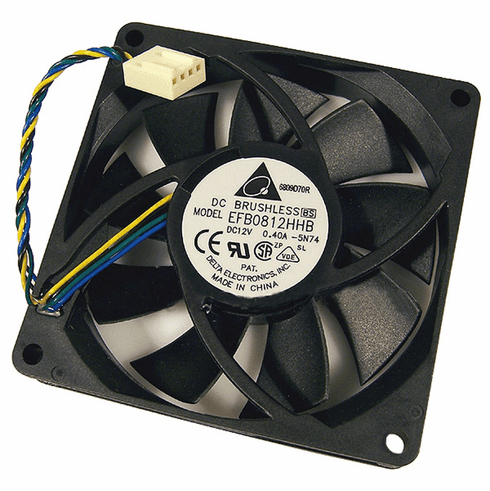 HP 12v DC 0.40a 80x15mm 4-Wire 4-Pin Fan EFB0812HHB Brushless Delta FAN New Bulk