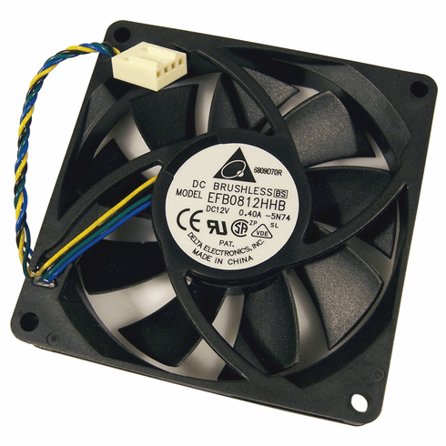 HP 12v DC 0.40a 80x15mm 4Pin 4-Wire Fan EFB0812HHB-5N74 Brushless Delta FAN New Bulk