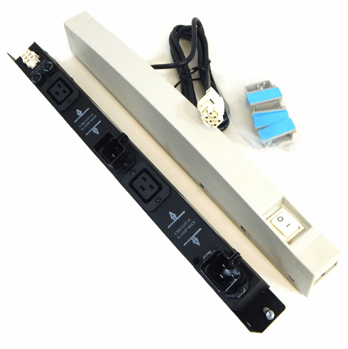 HP 16A 240VAC PDU Switch Accessory Kit New E7680A 2x C20 Input / 2x C19 Output