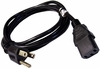 HP 6FT 5-15P to C13 125V 10A Power Cord NEW 8121-0740
