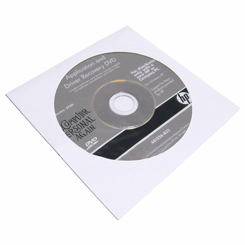 HP 2730 Application Driver Recovery DVD 481226-B22