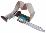 HP 2nd Serial Port Standard Adapter NEW Bulk 482439-001 w/ 16-in Cable 389023-002