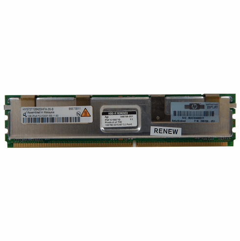 HP 2Rx8 PC2-5300f DDR2 ECC 1GB Memory Module 398706-051 Reg Buffered Server Memory