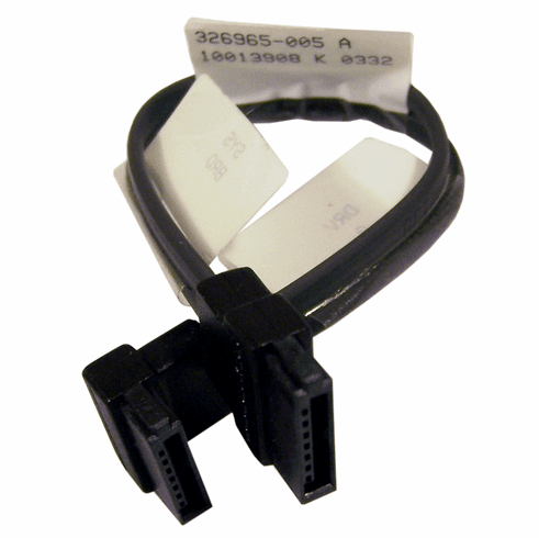 HP 326965-005 6in HDD SATA Cable NEW 346140-001 E124936 Black Data Cable