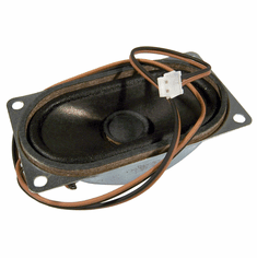 HP 40x70mm 1.5w Internal Speaker Assembly 629783-001 HDL Rev.A 2-Wire 2-Pin