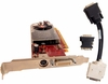 HP HD2400XT DMS59 TV PCIe 256MB Video Card 461902-001 Standard Bracket w/ Cable