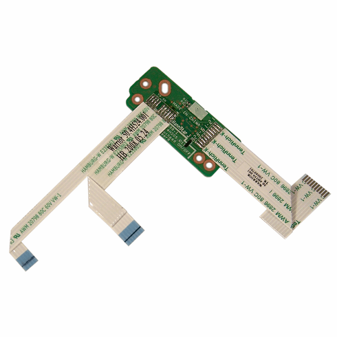HP 490944-001Touchpad Button Board Assembly 486630-001 with Interconnect Cable