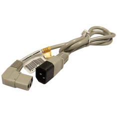 HP 4ft Daisy Chain Power Cord  NEW 8120-6302 C14-M/C13-F/18Awg/Dove Grey