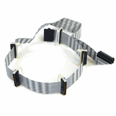 HP 3.5ft 6-Conn LVD/SE 68Pin SCSI Cable New P3505-63013 Internal with Terminator
