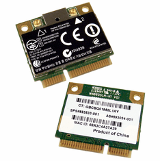 HP 802.11BGN WLAN PCIe WiFi H-Mini Card NEW 593034-001 Realtek B/g/n Wireless Bulk