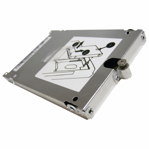 HP 8440p HDD Carrier Caddy Bracket 600643-001 RCTO Assembly NEW