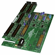 HP A6153A Slots with Tray Sideplane Board A6153-69008 3.3v DC 5v