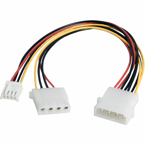HP C2G 03164  5.25 - 3.5 In Int Power Y Cable 747164-001 C2G part 03164