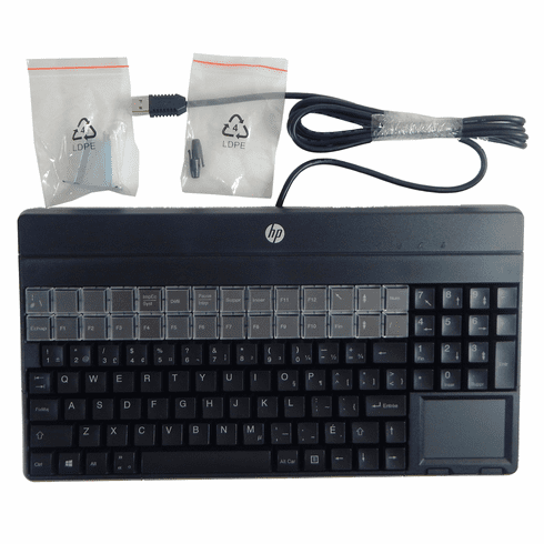 HP Cherry French Can POS USB TP Keyboard G86-62401CDAISA 862611-121 863545-121