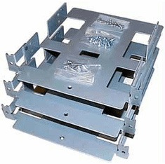 HP DAT- Tape- CDROM 3-Pack Trays Assembly New D2199A