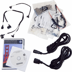 HP DL380e Gen8 Cables Doc CD and Accessories 677103-B21