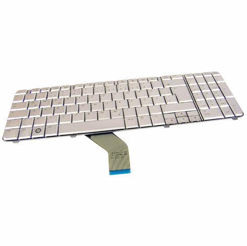 HP dV6 AEUT3G00010 Silver German Keyboard 506538-041 Rev.3A 9J.N0Y82.20G Laptop