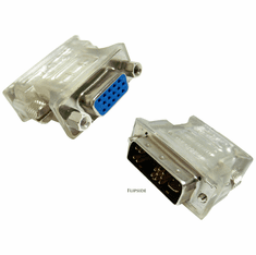 HP DVI Male to VGA Female Adapter NEW 679434-001 6613A088-004-RS1 Rev.A
