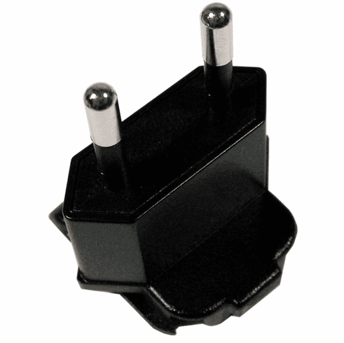 HP EURO AC Adapter Plug Assembly New 412198-021