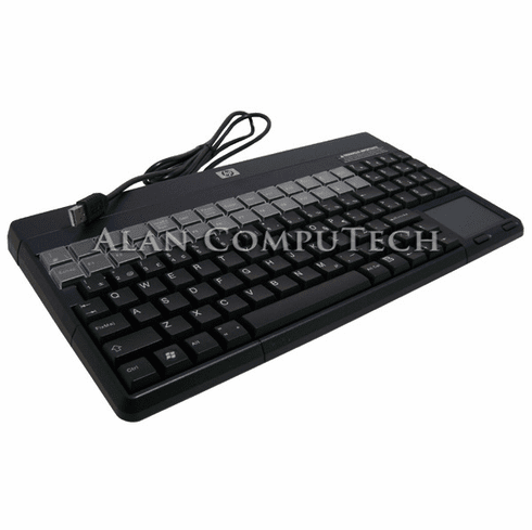 HP French Canadian POS 106 USB Keyboard New 492247-001 with Touchpad Retail