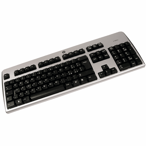 HP Italian Wireless Keyboard NO-Receiver New 509432-061