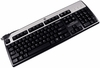 HP KU-0316 DOM Silver Black USB Keyboard NEW 434821-003 Standard US English