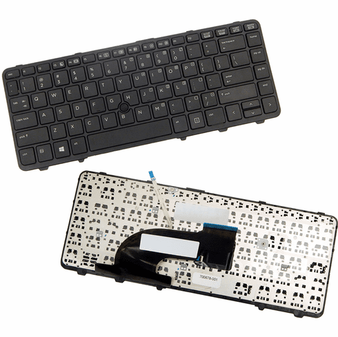 HP Laptop Keyboard with Pointstick New 700678-001