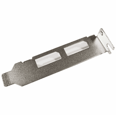 HP LP295NVSBRACKET Short Bracket NEW Bulk P1273-0001M Dual DisplayPort Low Profile
