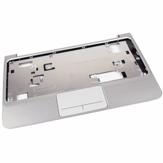 HP Mini 210 Silver Palmrest w Touchpad Assy 635012-001 Laptop Touchpad Top Cover