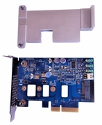 HPZ Turbo G2 PCIe No SSD Low Profile Adapter 822947-001 Low Profile Brk (NO-SSD Drv)