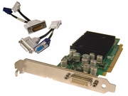 HP Quadro NVS285 DMS59 PCIe 128MB Card 396683-001 w/ cable 31028822