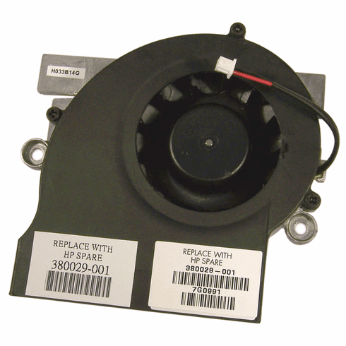 HP NX9600 Middle Mounted Cooling Fan NEW 380029-001