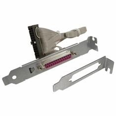 HP Parallel Port Adapter w LP Bracket NEW 462537-001 DB-25-F with Low Profile Kit