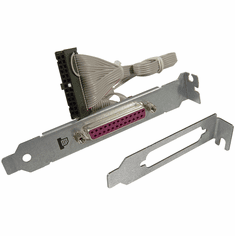 HP Planets FH Printer Port w LP Bracket NEW 455959-002 DB-25-F with Low Profile Kit