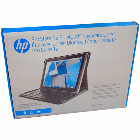HP Pro Slate 12 Bluetooth US Keyboard Case K4U66AA#ABA 801341-001