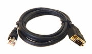 HP RJ50 TO DB9 - 2 METER Cable Assy New 767151-001