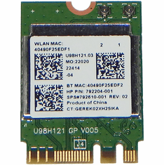 HP RTL8723BE 1x1 Bluetooth + WirFi Adapter 792204-001 792610-001  802.11bgn 2.4Ghz