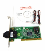 HP SC-FX 100B N-FX-SC-02F NIC PCI FC Card 343-0074-002 Transition Standard Bracket