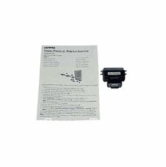 HP Serial-to-Parallel Black Adapter NEW 127463-001 Compaq Printer 101868-B21