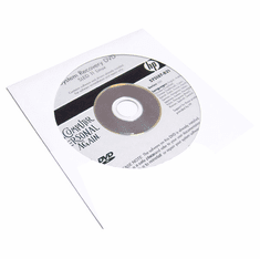 HP Series 5101 System Recovery DVD 575187-B21 Sled 11 Linux Software