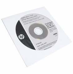 HP Series 6440- 6540 Driver and Application Recovery DVD Win-Vista Software577561-B21