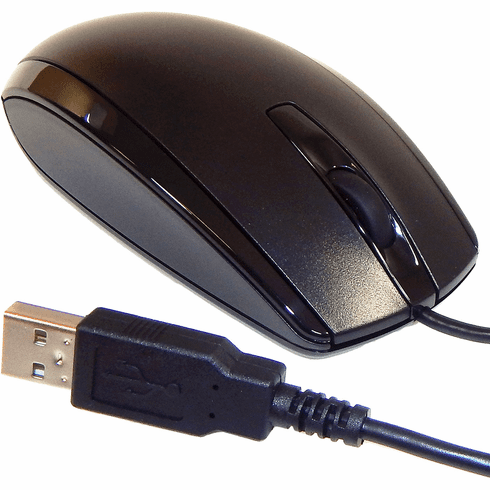 HP Universal Optical Wired USB Scroll Mouse 719901-001