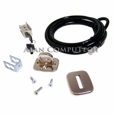 HP Universal PC Chassis Security Lock Kit 335132-004 Cable, Trap Lock Assy & Key