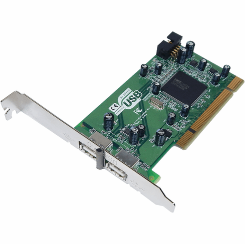 HP USB 2.0 Highspeed 2-Port PCI Adapter Card 285099-002 142531000000A  Interface