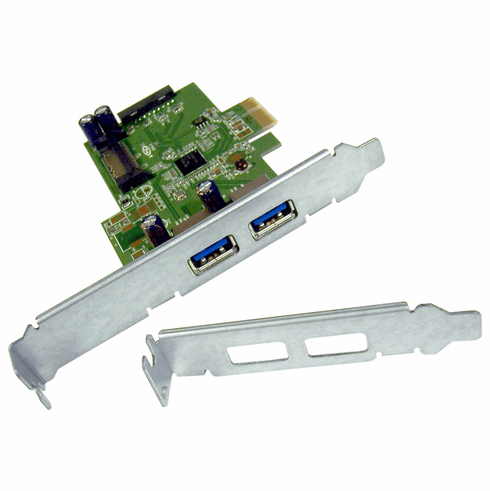 HP USB 3.0 SuperSpeed PCIe x1 Card New  663212-001 Standard and LP 609885-001