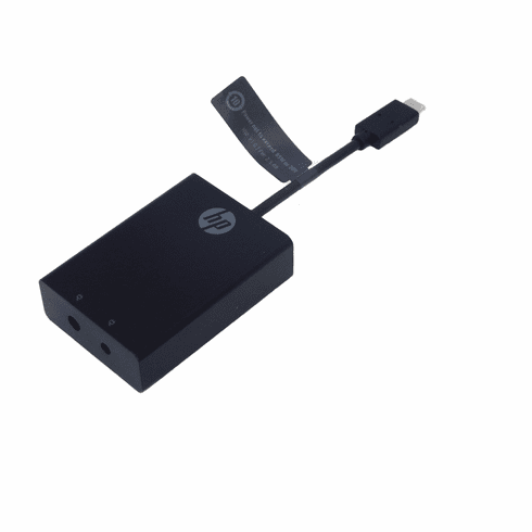 HP USB-C to 3 and 4.5mm 814813-001 New N2Z65AA#ABA