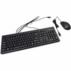 HP USB Essential Keyboard and Mouse H6L29AA-ABA