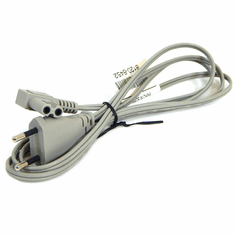 HP Volex 2-Prong 250v Angled Grey Power Cord New M1250R 2.5a 250v Cable