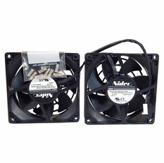 HP Z820 Rear Mounted System Dual Fans New 683764-001 with Screws New Pull