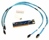HPE NVME-PASSTHRU TO BP WITH CABLES NEW P02175-001